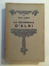 CATHEDRALE D'ALBI 1944 LARAN PETITES MONOGRAPHIES FRANCE ILLUSTRE