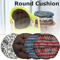 Home Seat Cushion Round Pillow Floor Yoga Office Chair Mats Tatami Pads 43cm