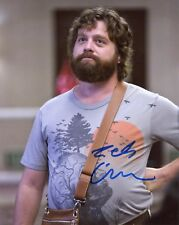 "~~ ZACH GALIFIANAKIS Authentic Hand-Signed ""ALAN - The Hangover "" 8x10 photo ~~"