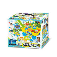 Tayo The Little Bus Camping Wagon with Equipment Set