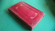 Antique French Leather/Wood Book Shaped Box - Outstanding !!!