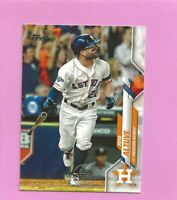 2020 Topps 582 Montgomery Club Foil Stamp #602 Jose Altuve Houston Astros
