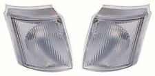 For Ford Transit Mk5 Van 9/1994-2000 Clear Front Indicator Lights Pair OS NS