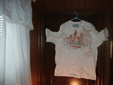 Timberland t-shirt short sleeve color white CITY SCENE size XL/TG BRAND NEW