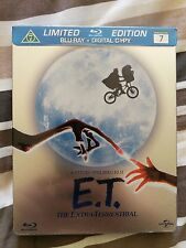 ET LIMITED EDITION BLU RAY + DIGITAL COPY STEELBOOK IMPORT NEW