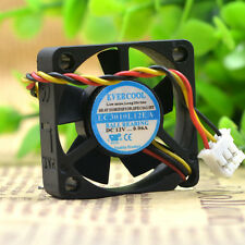 1 PCS EVERCOOL Fan EC3010L12EA DC 12V 0.06A 3CM 3 Pin  30×30×10mm