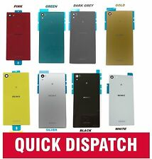 Back Rear Glass Replacement Battery Cover For Sony Xperia Z5 / Compact / Premium