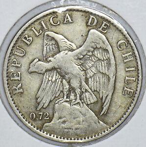 Chile 1915 Peso Condor animal 291210 combine shipping