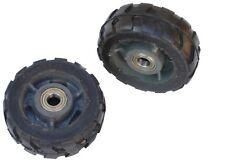 2x 500kg Schwerlastrollen Transportrollen stabil Gummirollenbelag Ø150mm 00225