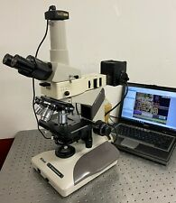 Nikon Optiphot 2 Nomarski Dic Bfdf Optiphot 100 Microscope With Camera