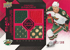 08-09 Black Diamond JERSEY RUBY xx/100 Made! Marian GABORIK - Wild