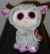 Ty Beanie Boos ~ DIXIE the 6 Inch Size Easter Lamb ~ 2018 BRAND NEW ~ IN HAND