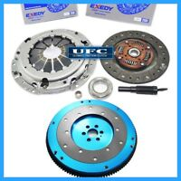 EXEDY CLUTCH KIT 06009 w UFC ALUMINUM FLYWHEEL for 89-90 NISSAN 240SX 2.4L KA24E