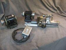 micro II mini metal lathe tool chuck, drill chuck, motor and switch pen making?
