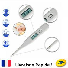 Thermomètre Digital Orale BouchePrise Température Corporelle Adulte Enfant Bébé