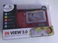 *NEW* Summer Infant Baby Monitor In View 2.0 ***NO CAMERA!!!***