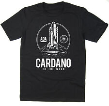 Cardano To The Moon T-Shirt - BTC ADA - Bitcoin Crypto - 6 colours