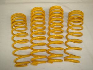 Lowered Front & Rear KING Springs to suit 12-16 GJ Mazda 6 Diesel Models