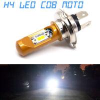 Ampoule LED H4 6500K 12V Blanc froid Xenon Moto Hornet R1 Bandit Gsxr 750 Ducati