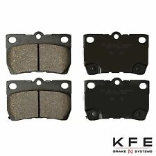 Premium Ceramic Disc Brake Pad REAR NEW Set With Shims Fits Lexus KFE1113