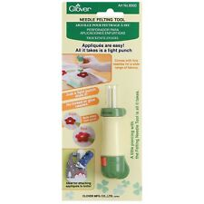 CLOVER NEEDLE FELTING TOOL HANDLE  WITH SAFETY LOCKING DEVICE - BRAND NEW