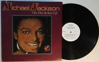 """MICHAEL JACKSON – ONE DAY IN YOUR LIFE - 12"""" 33 RPM PROMO VINYL LP – MOTOWN 956"""