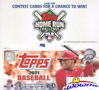2021 Topps Series 1 Baseball MASSIVE 24 Pack Factory Sealed Retail Box-384 Cards