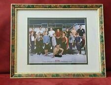 Paul Hamm Autographed Tour Of World Gymnastics Champions 2000 Framed Photo