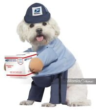 California Costumes USPS Mail Carrier Pup Dog Pets Halloween Costume PET20170