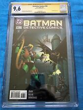 Detective #708 - DC - CGC SS 9.6 NM+ - Signed by Lee Weeks - Batman