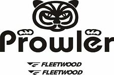 Fleetwood prowler large RV sticker decal graphics trailer camper rv prowler