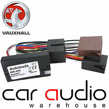 Vauxhall Signum 04 On Sony Car Stereo Radio Steering Wheel Interface Adaptor