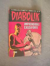 DIABOLIK ORIGINALE ANNO XVII n° 15 - 1978 - RARO - OTTIMO