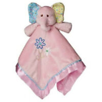 Mary Meyer Ella Bella Elephant Baby Security Blanket Lovey Toy