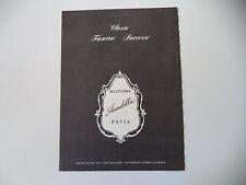 advertising Pubblicità 1977 PELLICCE PELLICCERIA ANNABELLA - PAVIA