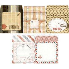 7Gypsies POSTALE Tag Envelopes (10) pcs scrapbooking altered art collage