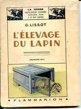 L'ELEVAGE DU LAPIN