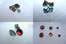 Bigiotteria viola in acciaio cristallo