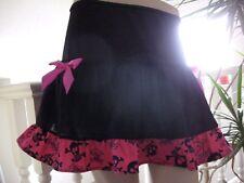 Funky Skulls Skirt Party Black White Pink Blue Rock Gothic Clothing Festival UK
