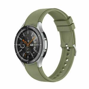For Samsung Galaxy Watch 4 Classic 40/42/44/46mm Silicone Wrist Band Sport Strap