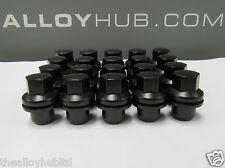 Gamma Nuovo di Zecca ROVER VOGUE L405 nero rivestito in lega Dadi Delle Ruote Set X20 RRD500510