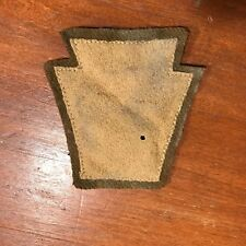 WWI US Army 28th Division Pennsylvania National Guard Cavalry unit patch AEF
