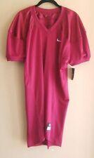 NWT Nike Football Practice Mesh Jersey Mens Size XL 535703 Short Sleeve Maroon