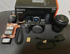 Sony Alpha A6500 24.2 MP Digital Camera with 18-135mm Zoom Lens - Black