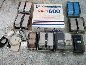 Beautiful Boxed Commodore Amiga A600 Computer Collector Condition Recapped