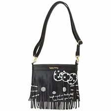 Hello Kitty Shoulder Bag black HELLO KITTY Fashion ladies woman NEW From Japan