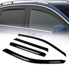 FOR 01-10 BMW X5 E53/E70 SMOKE TINT WINDOW VISOR SHADE/VENT WIND/RAIN DEFLECTOR
