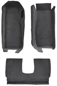 2005-2013 Chevrolet Corvette Coupe Cutpile Carpet Front Kit with Riser with Pad