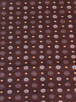 Classic Motifs Autumn Leaf 6.5 Inch Fabric Holder With Dowel