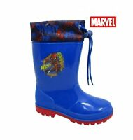 CHILDRENS WELLIES BOYS WELLINGTONS KIDS SPIDERMAN RAIN WINTER SNOW BOOTS SIZE